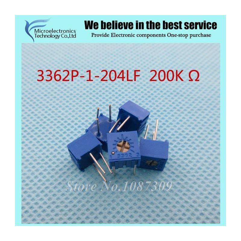 CazenOveyi 200pcs 1210 200k 200k ohm 5