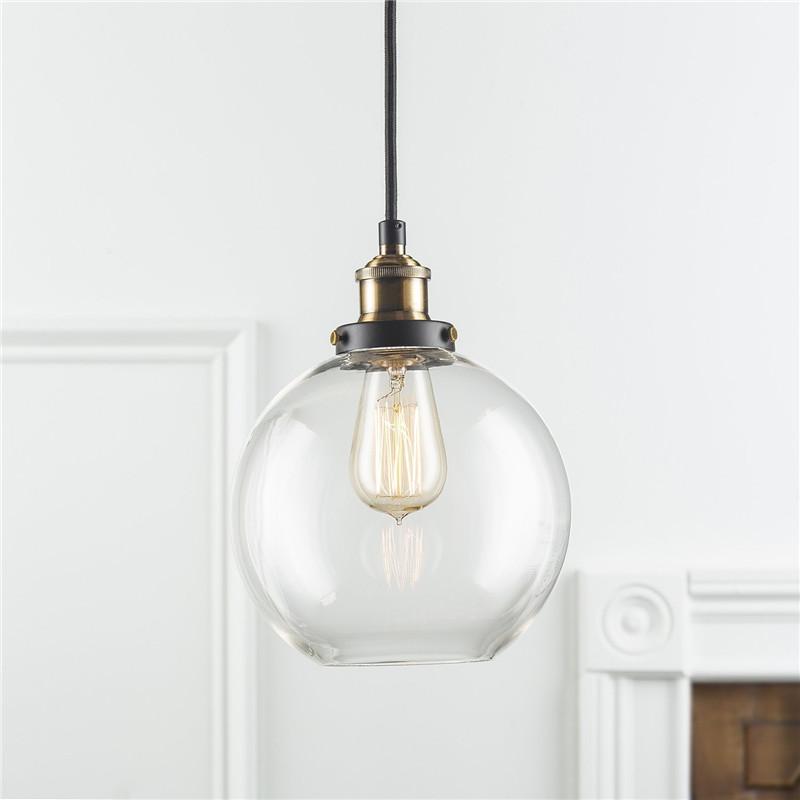 BOKT 8 lights vintage edison lamp shade multiple adjustable diy ceiling spider lamp pendent lighting easy fit industrial light