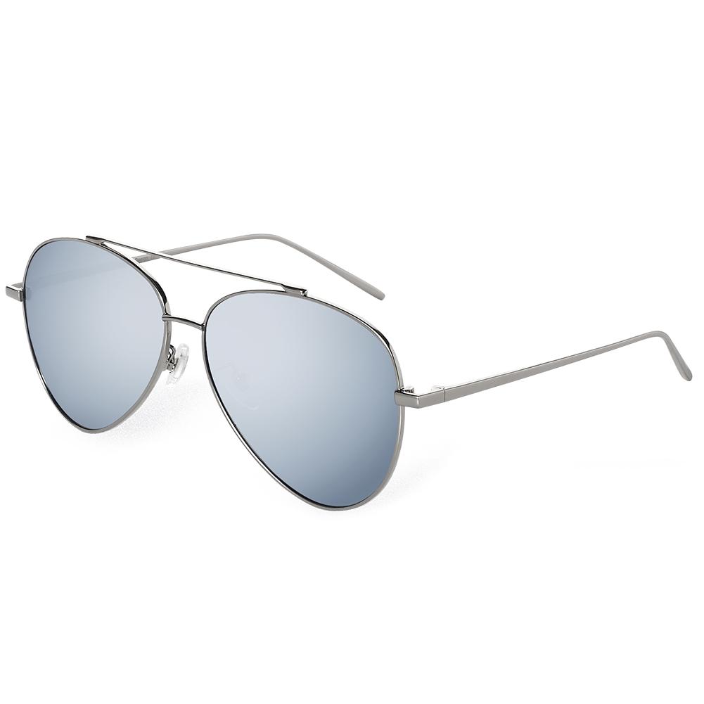 BLUEKIKI YEUX Серебристый цвет a j morgan keith 53408 aviator sunglasses