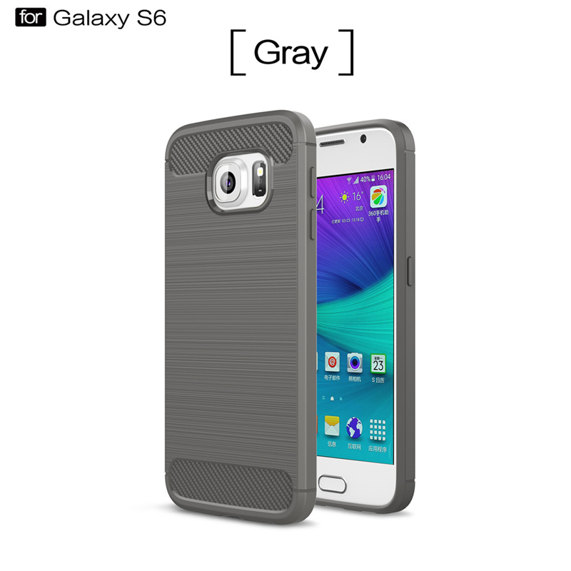 GANGXUN Серый цвет ultra slim clear phone cases for samsung galaxy s6