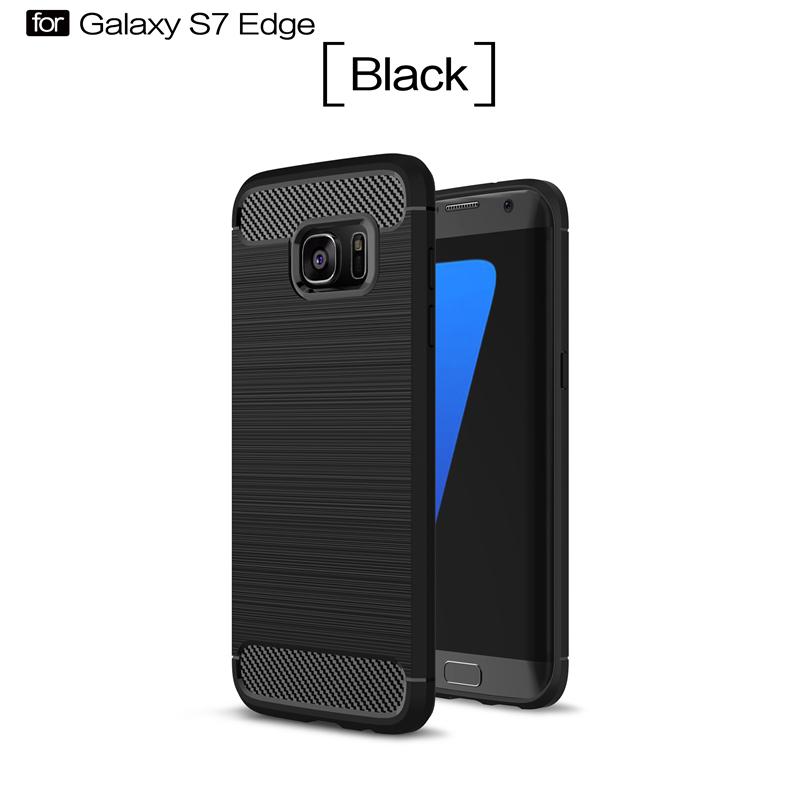 GANGXUN Черный цвет samsung galaxy s6 case anti slippery устойчивость к царапинам противоударная легкая крышка бампера для samsung galaxy s6