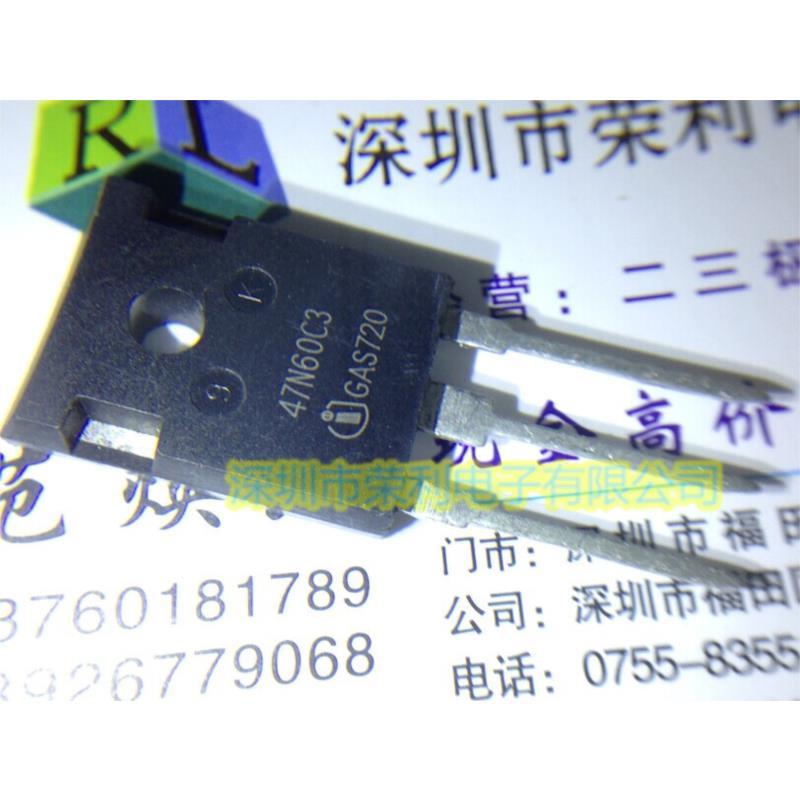 CazenOveyi free shipping 5pcs lot 47n60c3 spw47n60c3 inf to 247 47a600v new original