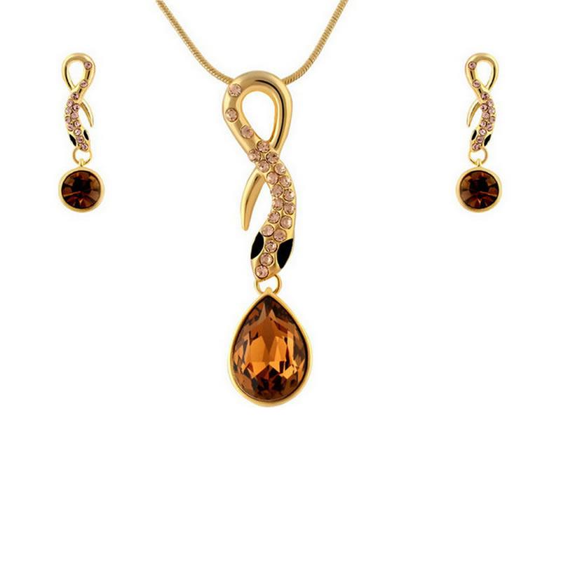 yoursfs Золото yoursfs высококачественная золотая пластина австрийский хрустальный серьги полые серьги серьги серьги серьги для женщин
