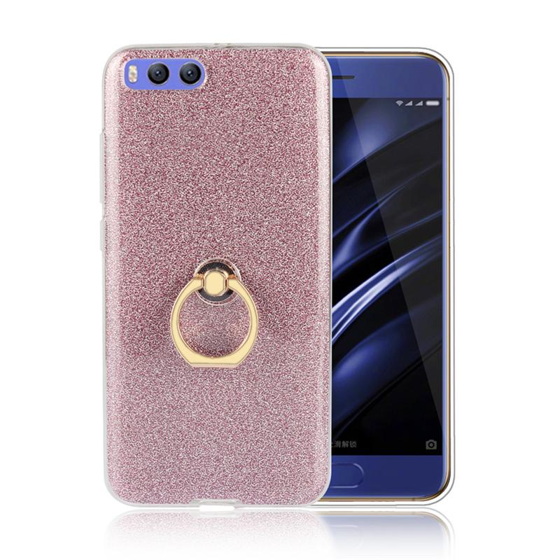 GANGXUN Розовый gangxun xiaomi mi 5 case роскошный мерцающий kickstand anti shock case для xiaomi mi 5