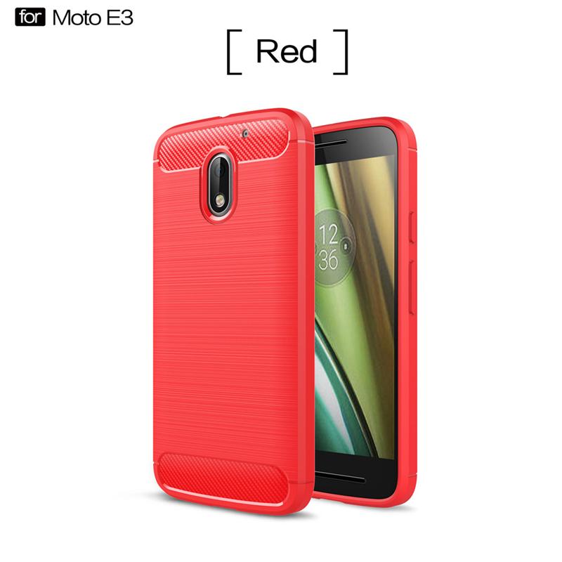 GANGXUN Красный Обложка для  Motorola Moto E3