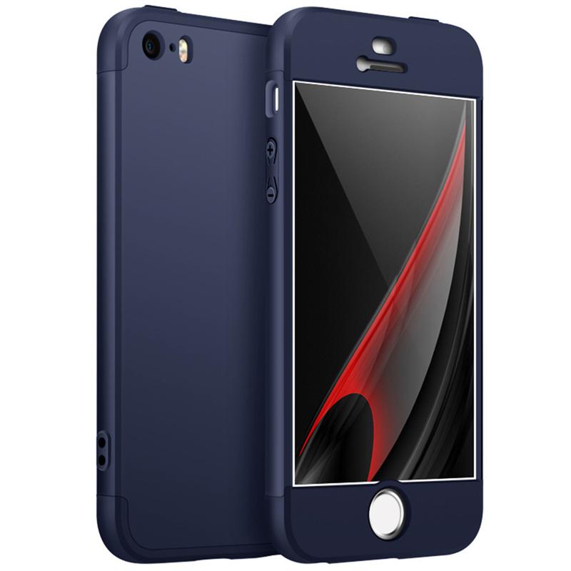 GANGXUN Blue iPhone5 5s 5SE 4 дюйма чехол для iphone 5 5s se vivanco 36239 blue
