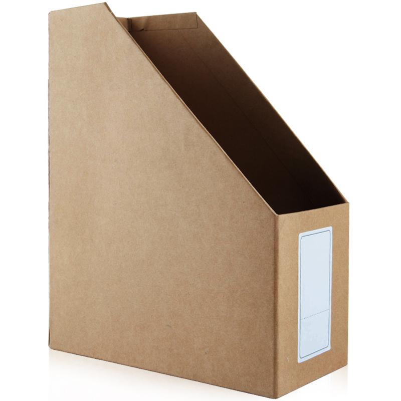 JD Коллекция дефолт Крафт-бумага файл коробка округлились