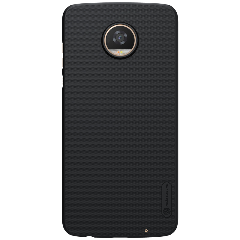 NILLKIN Черный Moto Z2 Play нил gold nillkin m5 матовое проса телефон защитной оболочки защитный рукав рукав черный телефон