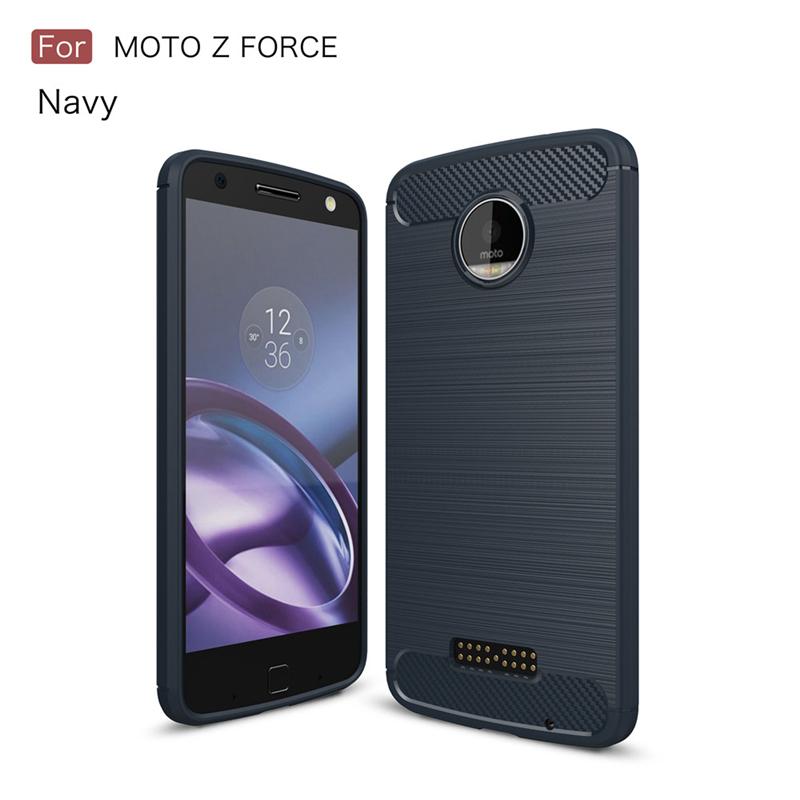 GANGXUN Синий Черный Обложка для  Motorola Moto Z Force