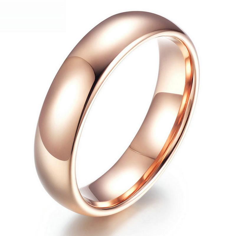 yoursfs Роза золотой 7 yoursfs factory price классические простые кольца для повязки золота дешевые навсегда кольца для мужчин и женщин обручальные кольца оптом