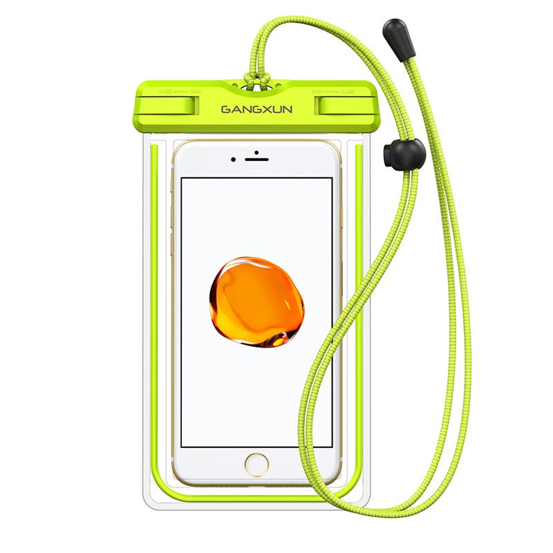 GANGXUN Зеленый цвет матин неопрена водонепроницаемый мягкий чехол для объектива камеры сумка размер sml xl