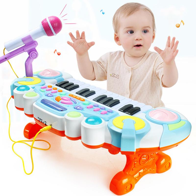 JD Коллекция Fun клавиатура - синий дефолт доктор doll dr b раннего детства образовательные детские игрушки детские фитнес стеллаж новорожденных лапка цветка детский фитнес кадр
