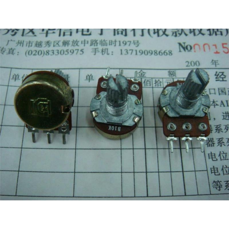 CazenOveyi the diaphragm 16 single turn potentiometer b10k associated with stepper handle 20mm 41 points b10k