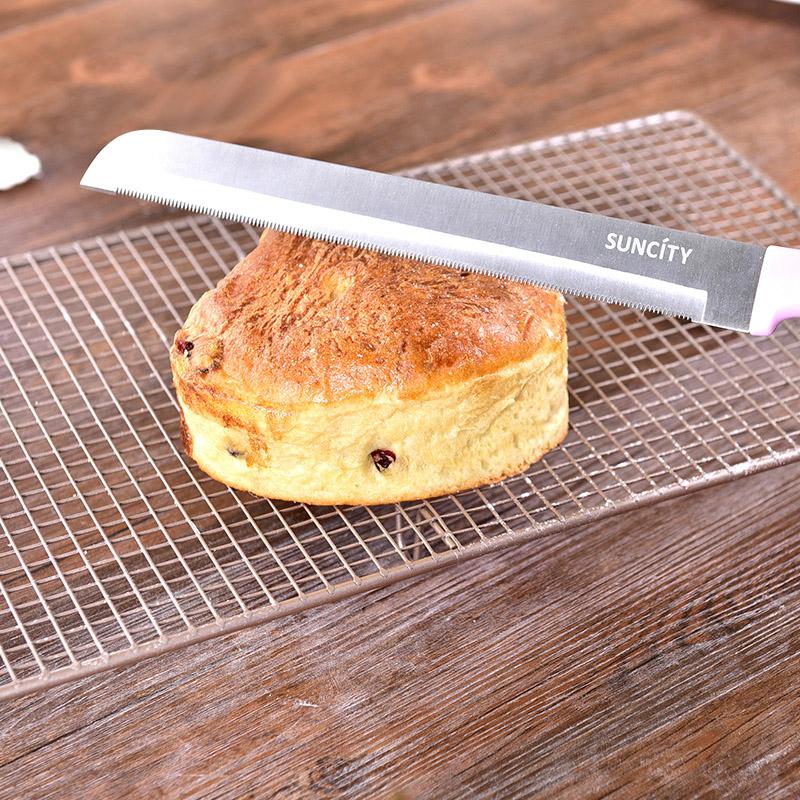 JD Коллекция дефолт дефолт магия кухни magic kitchen выпекание торт резки пилы из нержавеющей стали хлебный нож зубчатый нож зубчатый нож