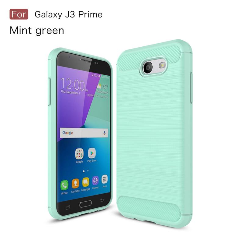 GANGXUN Зеленый цвет samsung galaxy j3 prime case anti slippery устойчивость к царапинам противоударная легкая крышка бампера для galaxy j3 prime