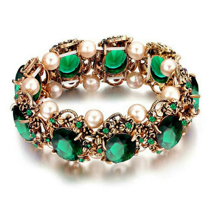 yoursfs Зеленый браслет soul diamonds женский золотой браслет с бриллиантами bdx 120168