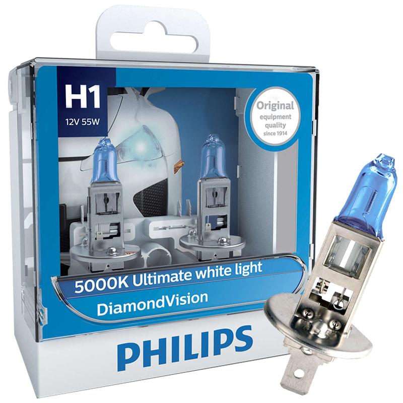 JD Коллекция Light Blue Даймонда H1 hj 038 24w 900lm 5000k 4 3517 cob led white light car headlamp white silver 10 30v