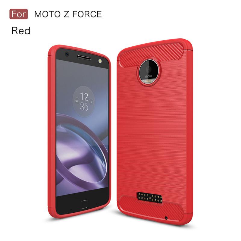 GANGXUN Красный Обложка для  Motorola Moto Z Force