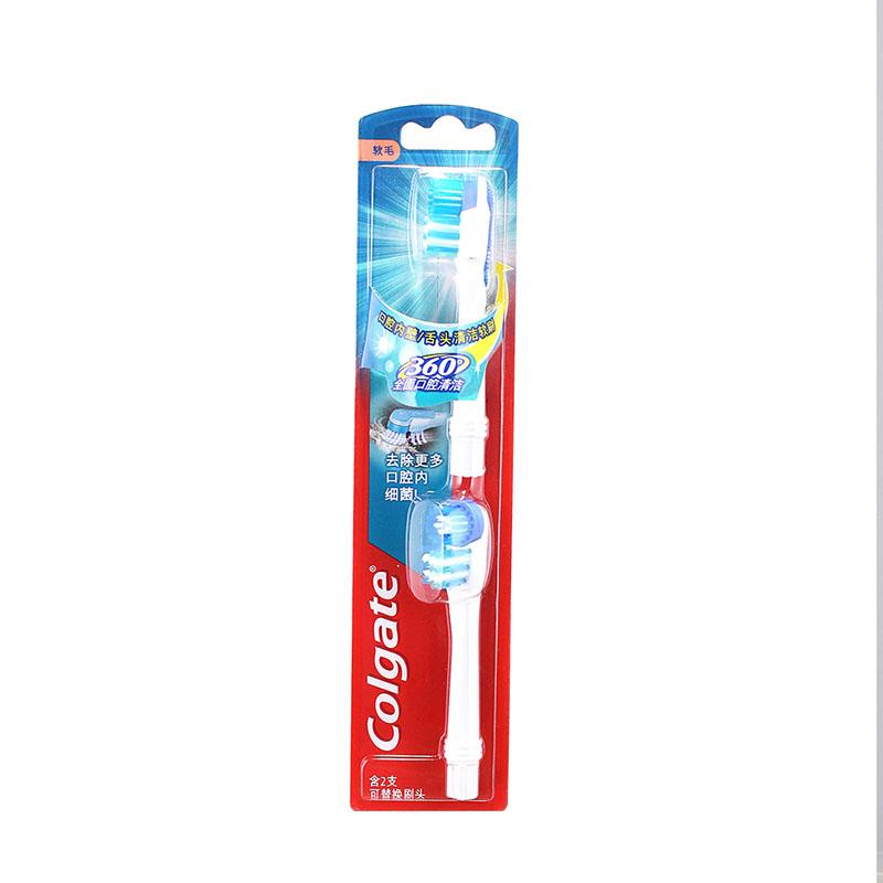 JD Коллекция toothbrush heads 2 count гао lujie colgate 360 ° всеобъемлющая здоровье полости рта зубная паста 200г десна старая и новая упаковка случайное распределение