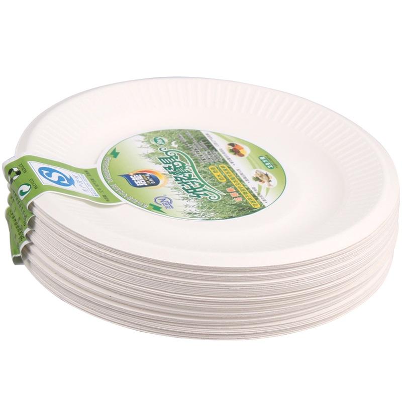 JD Коллекция 6-дюймовые бумажные тарелки дефолт jn 17161004jn