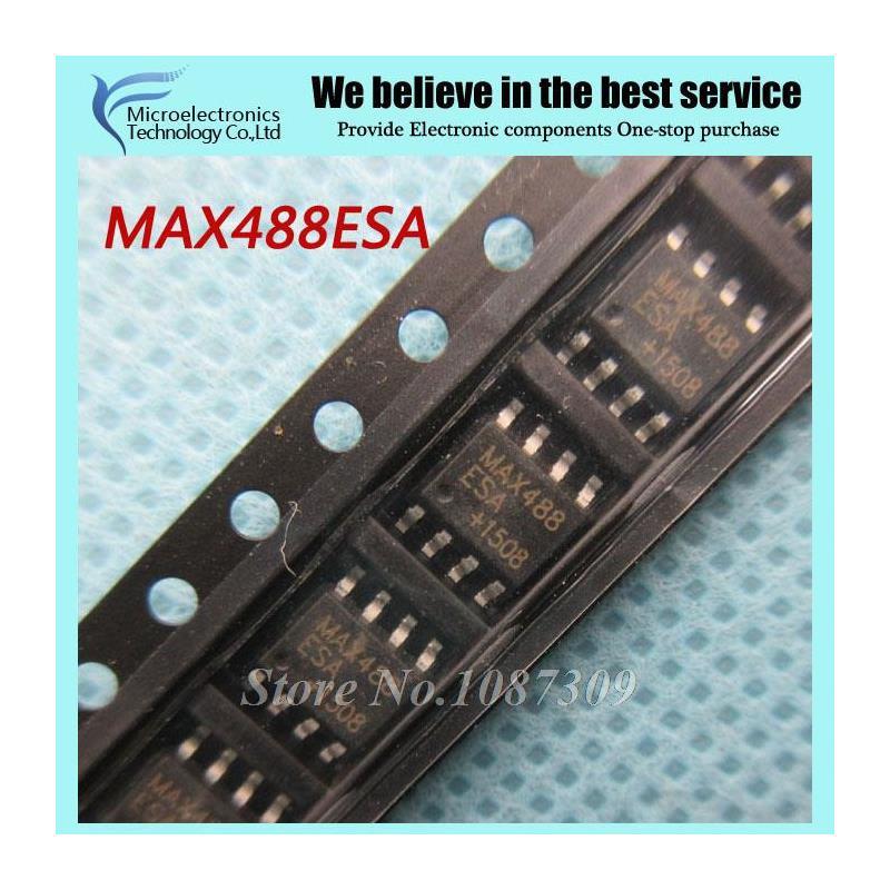 CazenOveyi 20pcs max485cpa dip8 max485 dip max485cp rs 485 rs 422 transceivers new and original free shipping