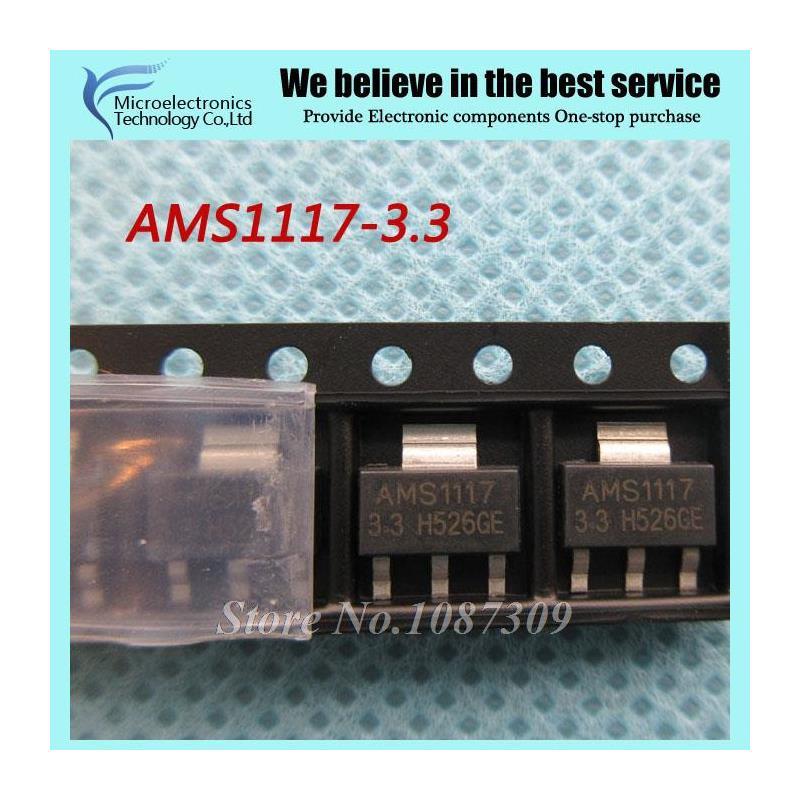 CazenOveyi 200pcs lot ams1117 2 5 ams1117 2 5v 2 5v 1a voltage regulator ldo sot 223
