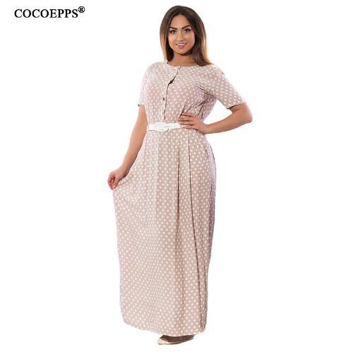 COCOEPPS Розовый Номер XXL xs milano платья и сарафаны макси длинные