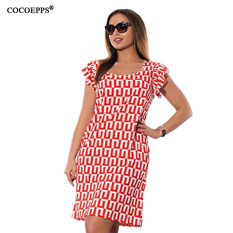 COCOEPPS Красный Номер XXXL платья bonne femme платье