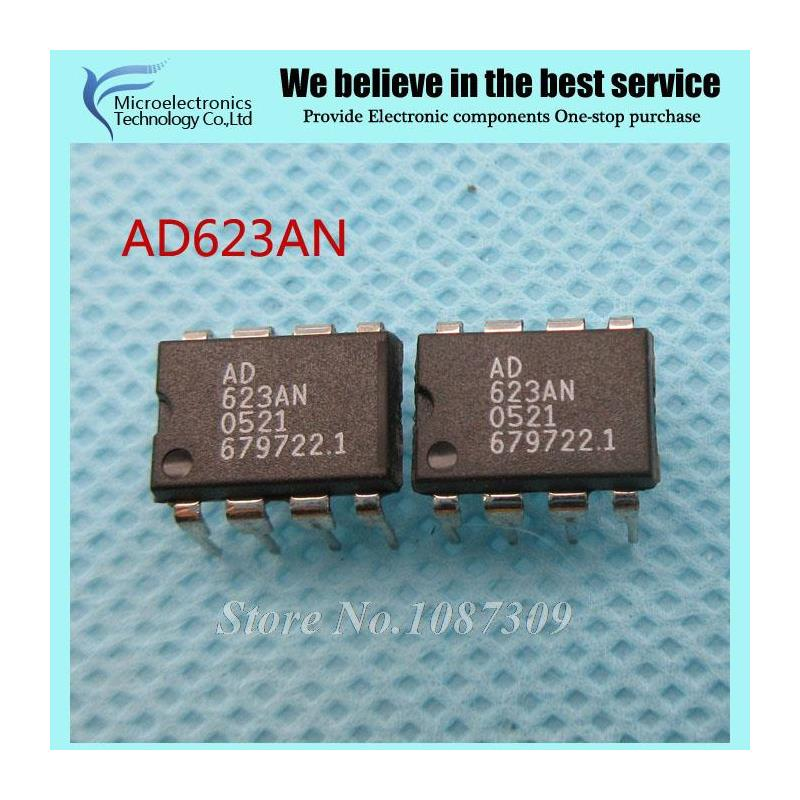 CazenOveyi 5pcs lot ic ad623anz ad623an ad623 dip 8 original authentic and new free shipping ic