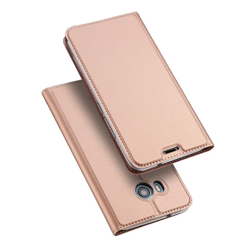 GANGXUN Розовое золото gangxun htc u11 дело высокого качества кожа pu флип обложка kickstand anti шок кошелек для htc u11