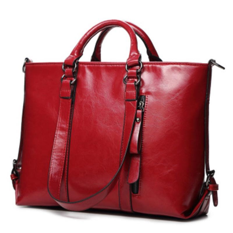 MEGIR Красный цвет женщины pu кожа сумочкакожаные сумки messenge