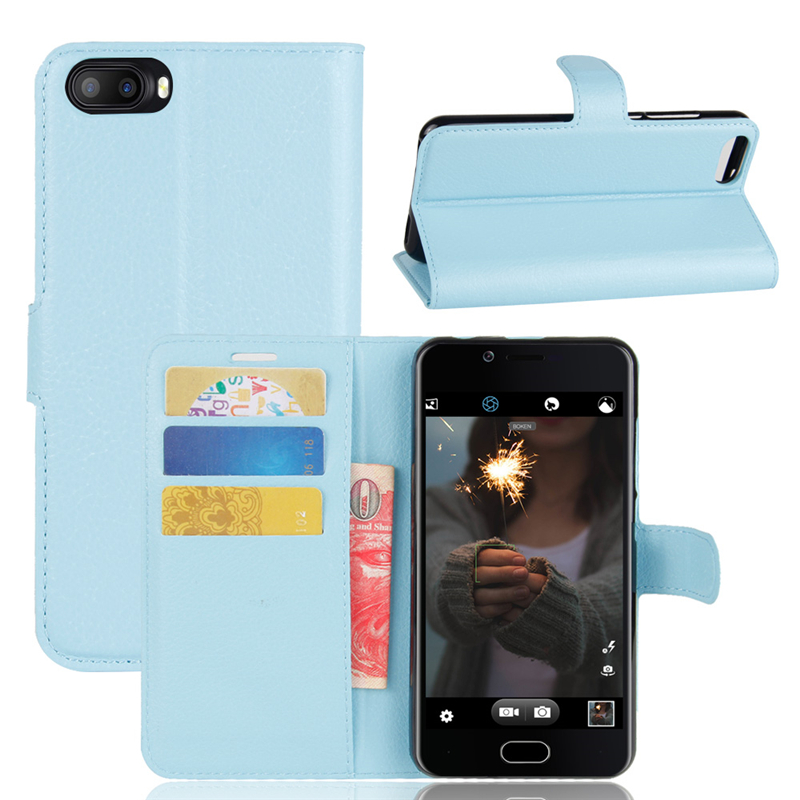GANGXUN Blue doogee valencia dg800 replacement battery back cover case deep blue