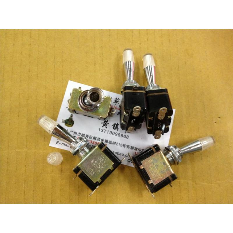 CazenOveyi 5pcs toggle switch 6a 125vac 6 pin dpdt on on mini toggle switch switches mts 202 m126 hot sale