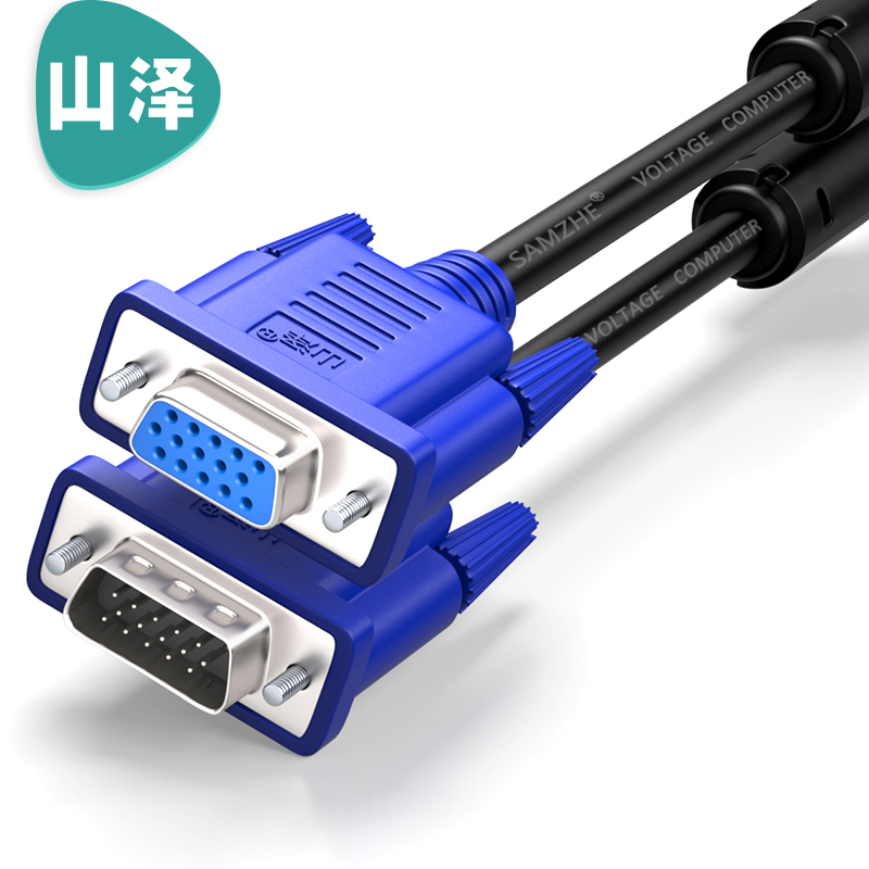 JD Коллекция VGA 3 6 контактный отверстие синяя головка 3 м