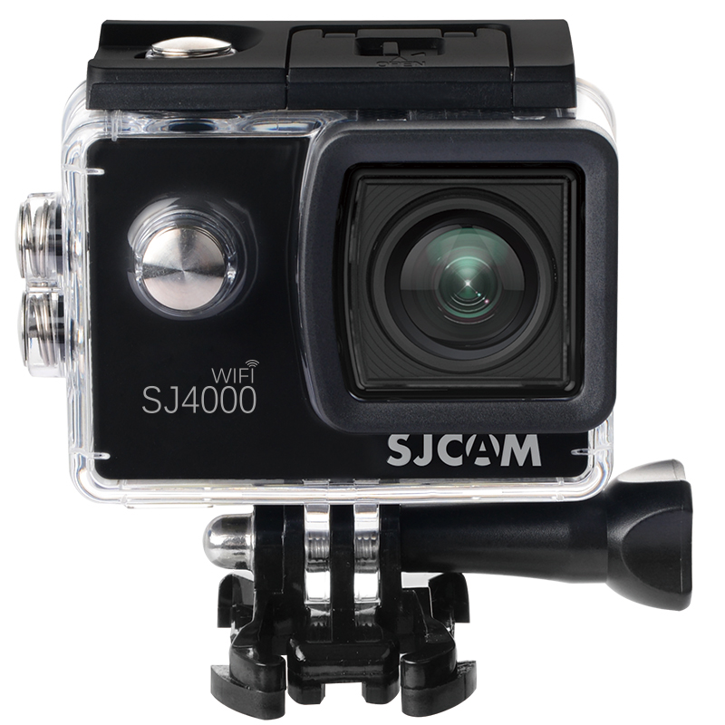 SJCAM Чёрный цвет original sjcam sj4000 sport action camera 2 0 inch hd 1080p diving 30m waterproof dv extreme sports mini camcorder sj 4000 cam