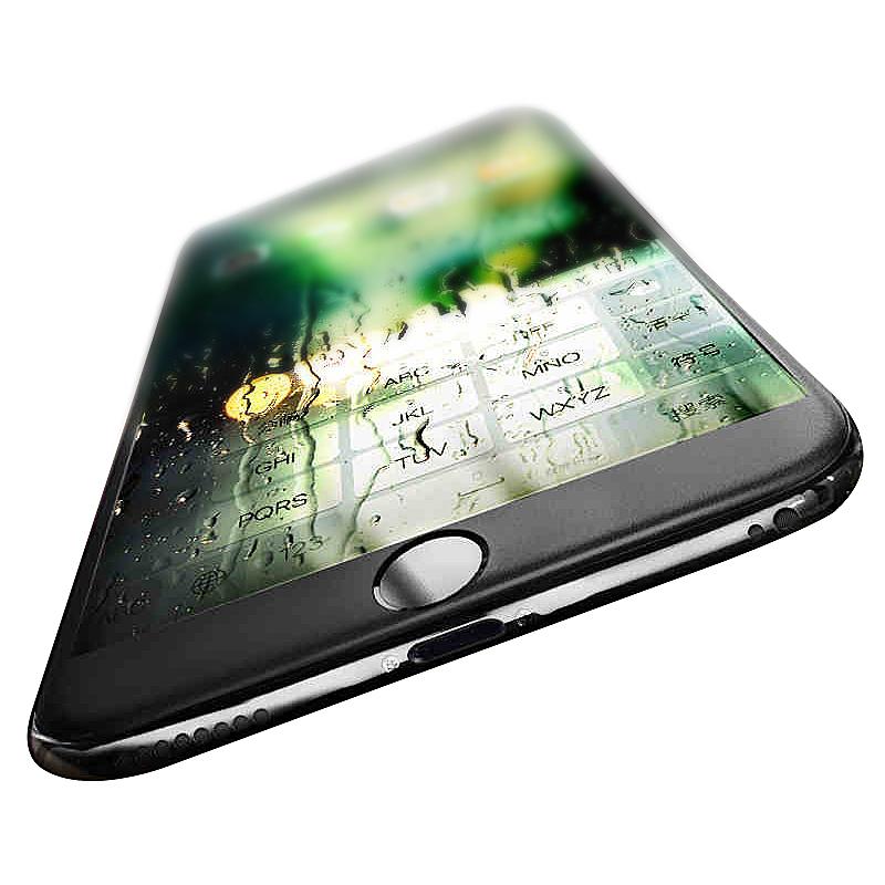 JD Коллекция Черный iPhone 7 [2] означает yomo яблоко 7 6s 6 стали пленки iphone7 6s 6 закаленное стекло пленка телефон фильм hd 4 7 дюйма