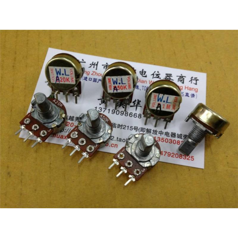 CazenOveyi 148 single stepping joint potentiometer with 41 points a20k a50k a1m anti axis 15mmf