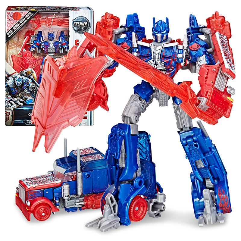 JD Коллекция Deluxe Edition Voyager Class Optimus Prime дефолт rid dark optimus prime nemesis prime car robot classic toys for boys action figure 12cm with box d0087