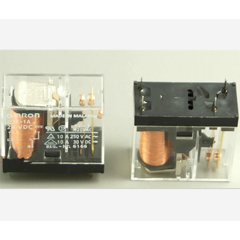 CazenOveyi 2pcs omron power relay g5nb 1a e 5vdc g5nb 1a e 12vdc g5nb 1a e 24vdc g5nb 1a e 5v 12v 24vdc 5a 4pins a group of normally open
