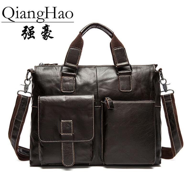 QiangHao Кофейный 156 дюймов мужчина  кейс