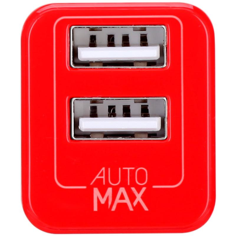 MOMAX красный дефолт momax зарядное устройство сетевое momax u bull 4 usb 5а белый