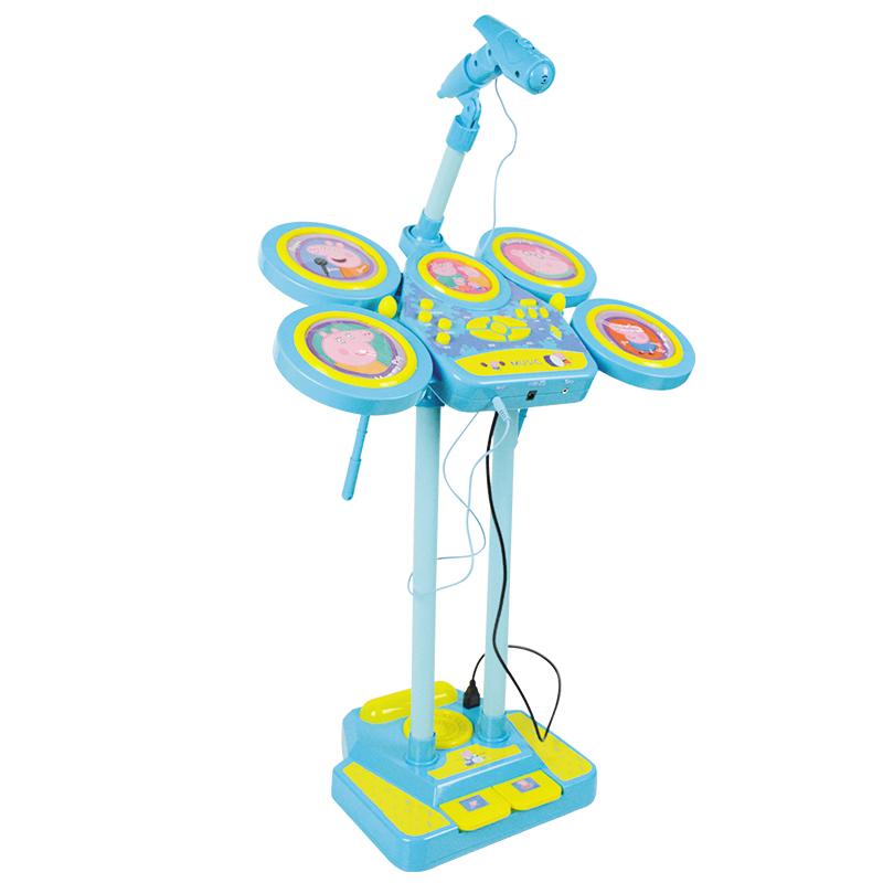 JD Коллекция Page Барабаны свинья дефолт малибу игрушки mali игрушки развивающие игрушки fun барабан ролл барабан ударил музыкальных инструментов детские игрушки t3002