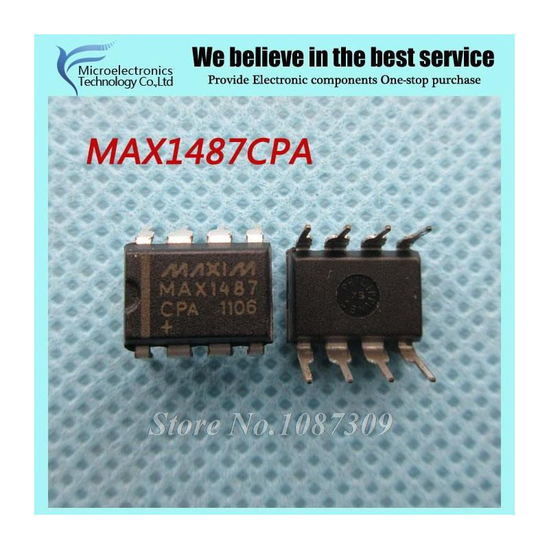 CazenOveyi 100pcs max485cpa dip8 max485 dip max485cp rs 485 rs 422 transceivers new and original free shipping