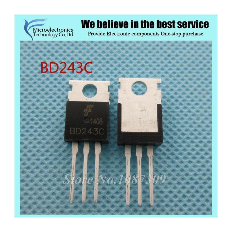 CazenOveyi 10pcs free shipping tip36c tip36 to 218 bipolar transistors bjt 25a 100v 125w npn new original
