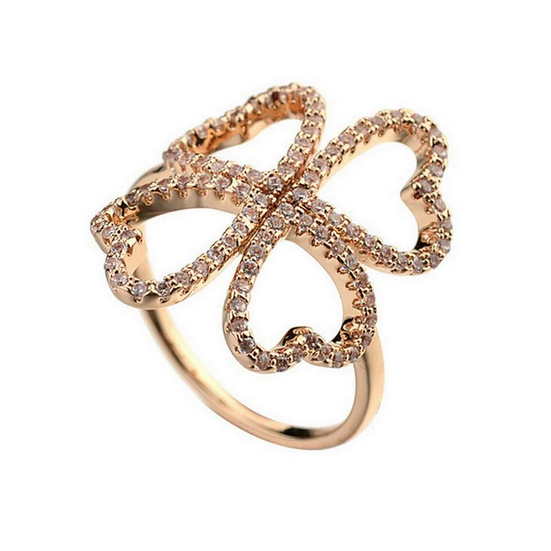 yoursfs Золото 95 yoursfs фирменное сердце кольца сердце кольцо комплект для женщин анель включает кольца кольцо обручального кольца падения