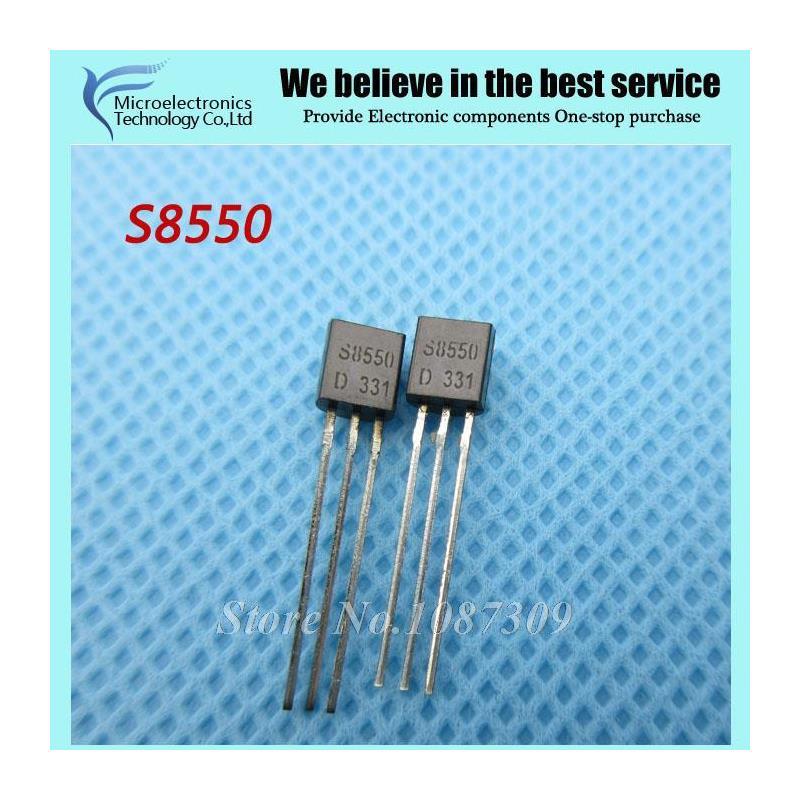 CazenOveyi 100pcs s8550 8550 pnp transistor to 92