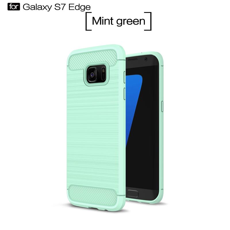 GANGXUN Мягкий зеленый цвет samsung galaxy s6 case anti slippery устойчивость к царапинам противоударная легкая крышка бампера для samsung galaxy s6