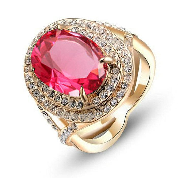 yoursfs Красная роза 6 yoursfs фирменное сердце кольца сердце кольцо комплект для женщин анель включает кольца кольцо обручального кольца падения