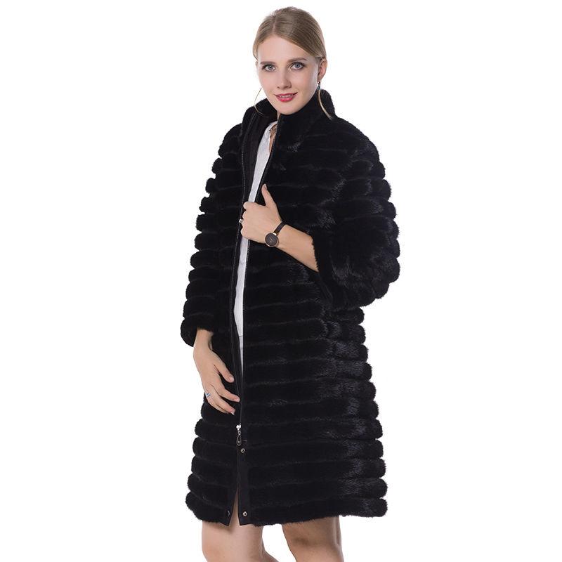 SARSALLYA Черный Номер 58 sarsallya женские зимние шубы подлинная норки вниз пальто 38 58 плюс размер толстые теплые норковые шубы пуховая часть отстёгивает