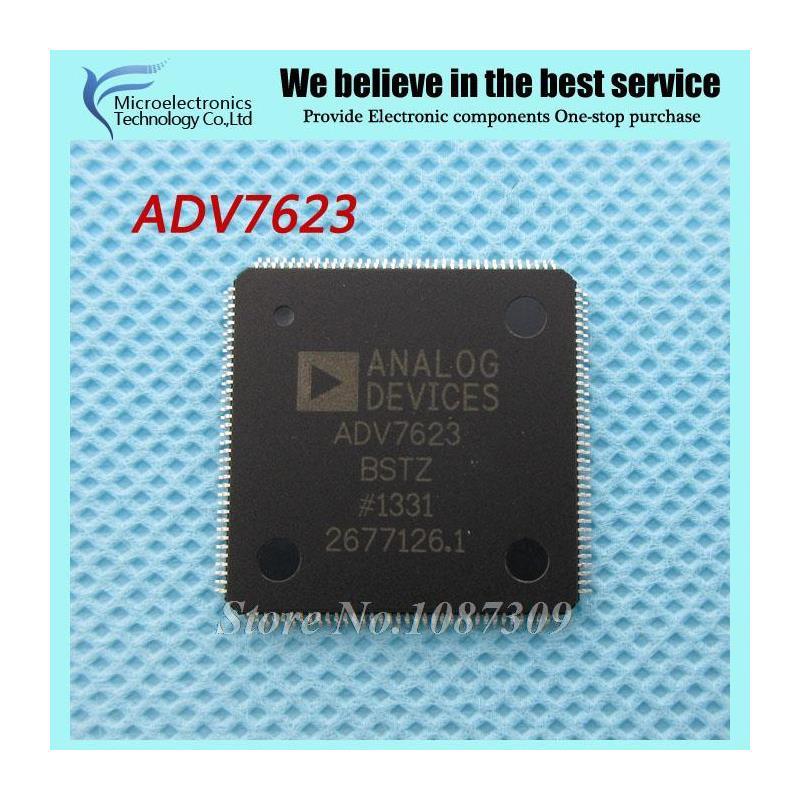 CazenOveyi free shipping adv7623 adv7623bstz adv7623b qfp144 display interface ic hdmi transceiver w fast switng tech new